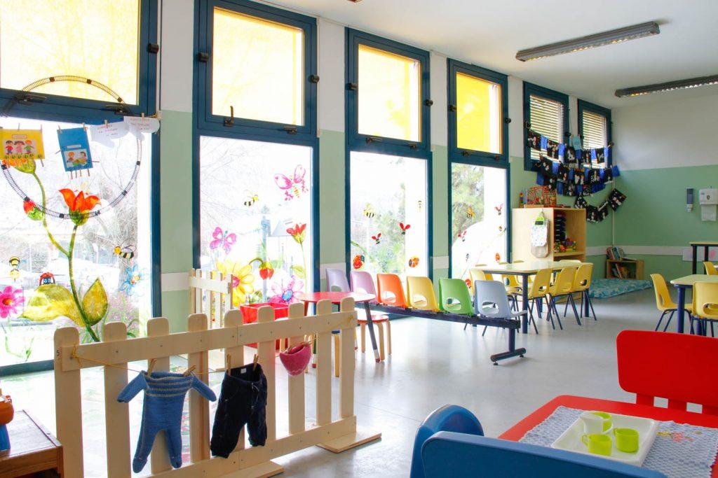 Aule spaziose scuola infanzia valceresio valganna cugliate fabiasco marchirolo