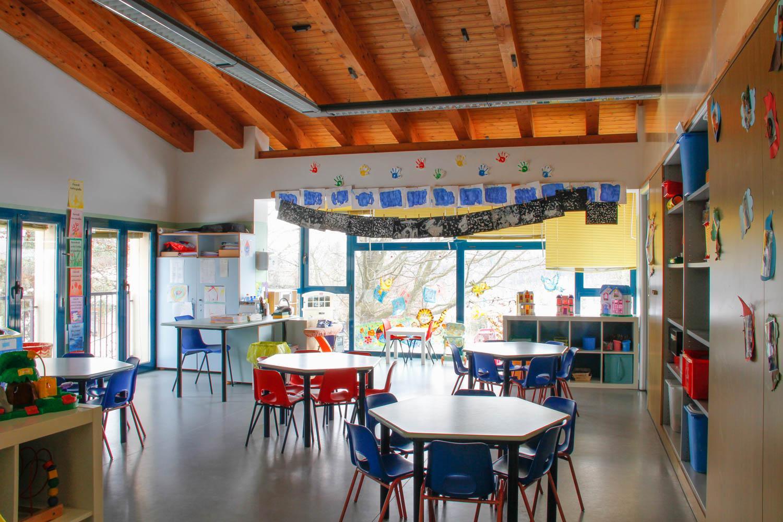 Aula scuola materna asilo valceresio valganna