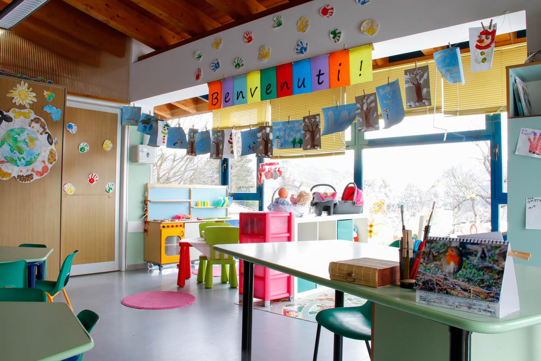 Aule scuola paritaria scuola materna asilo valganna valceresio ponte tresa marchirolo